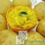 নাস্তায় মজাদার লুচি-আলুর দম